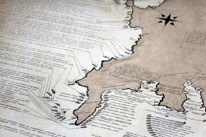 Cartografía Costa de Fisterra