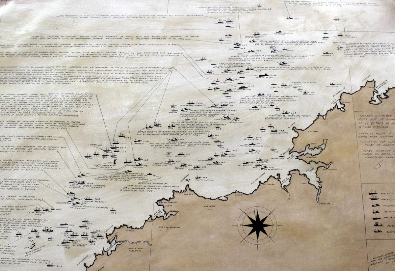 Cartografía paltaforma continental Camelle