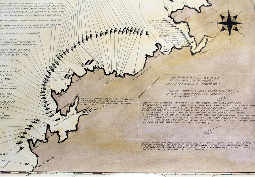 Cartografía Costa Camariñas