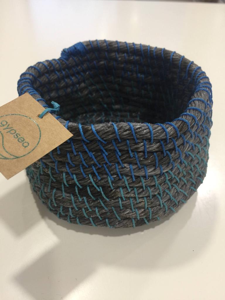 Cesto de cuerda