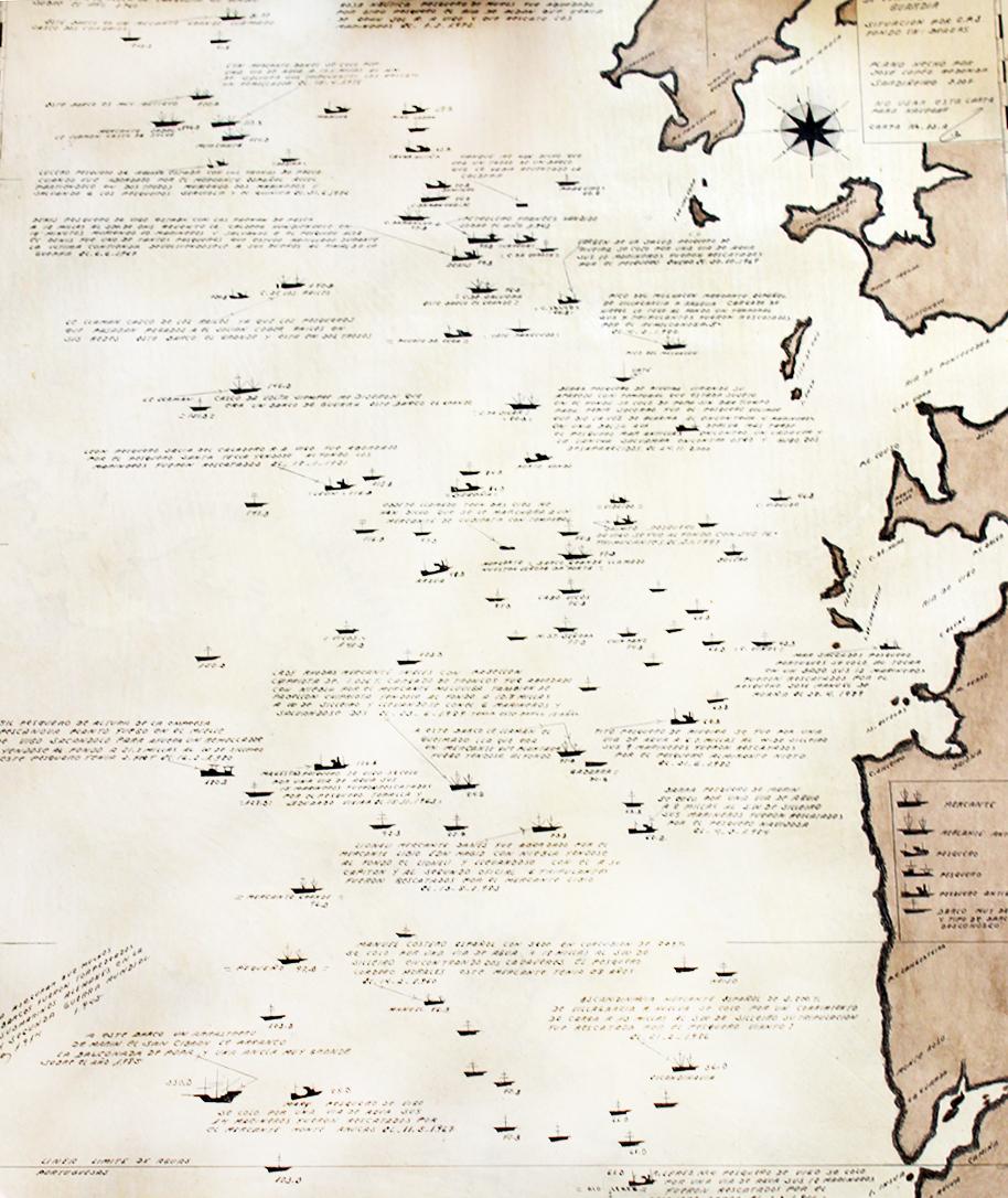 Cartografía plataforma Rías Baixas