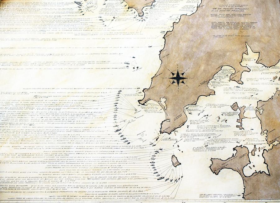 Cartografía Costa ría de Muros- Arousa