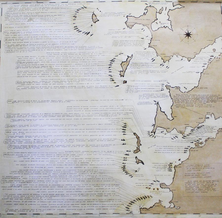 Cartografía Costa rias baixas